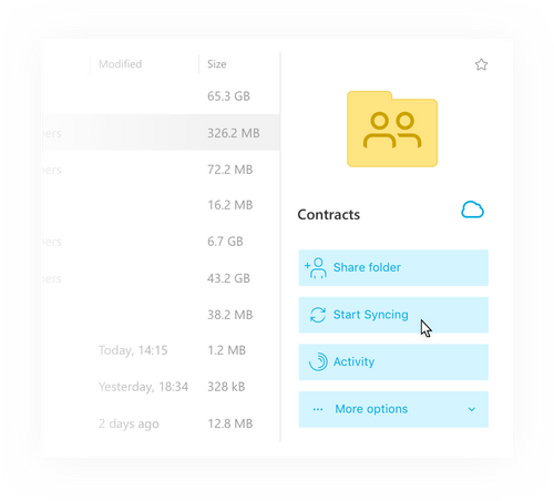 The most up-to-date version of your files at your fingertips