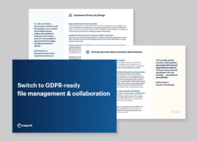 How to ensure to GDPR-ready file management?