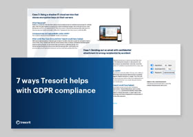 7 ways Tresorit helps with GDPR compliance