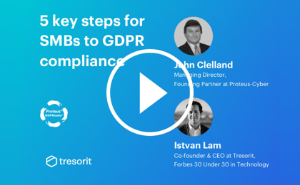 5 key steps for GDPR compliance in the cloud